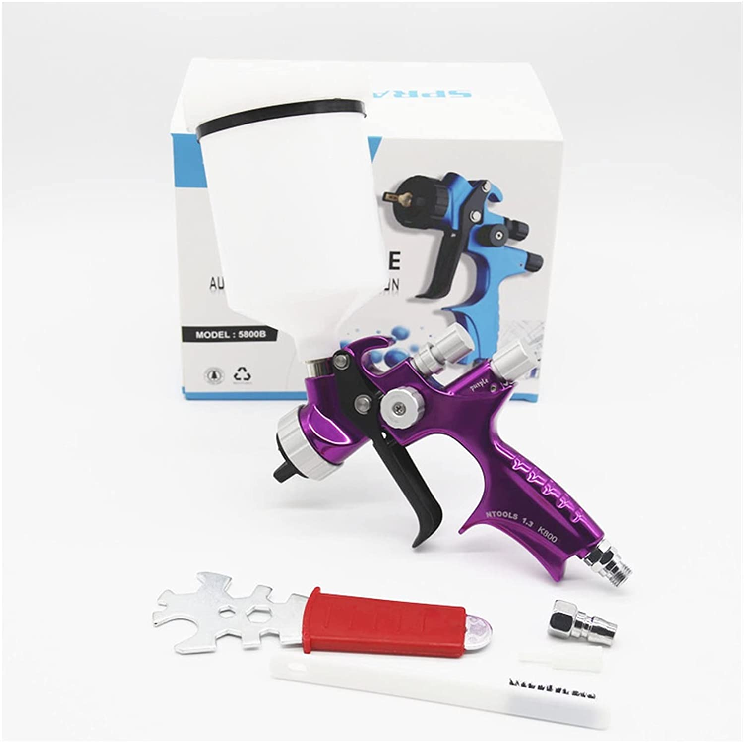 YANnew Painting Gun 1.3MM Nozzle Based El Paso Mall Spray Water Air Paint Max 85% OFF