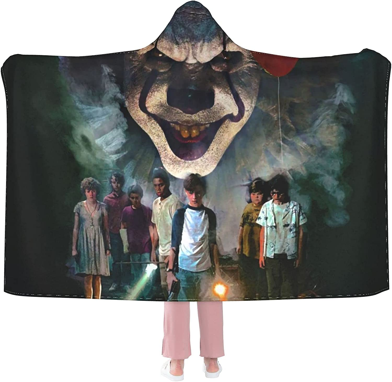 Step_Hen King's It Hooded San Antonio Mall Flannel Wearable Light W Blanket Throw Cheap mail order shopping