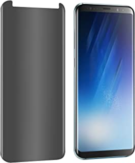 Galaxy S8 Plus Privacy Screen Protector [Upgrade Version] [3D Curve] Anti-spy Tempered Glass Screen Film 9H Hardness Anti-...