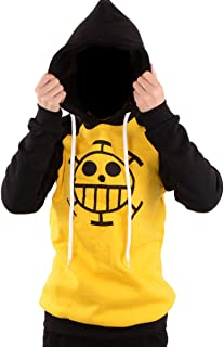 Anime One Piece Cosplay Clothes Adult Trafalgar Law Hoodie