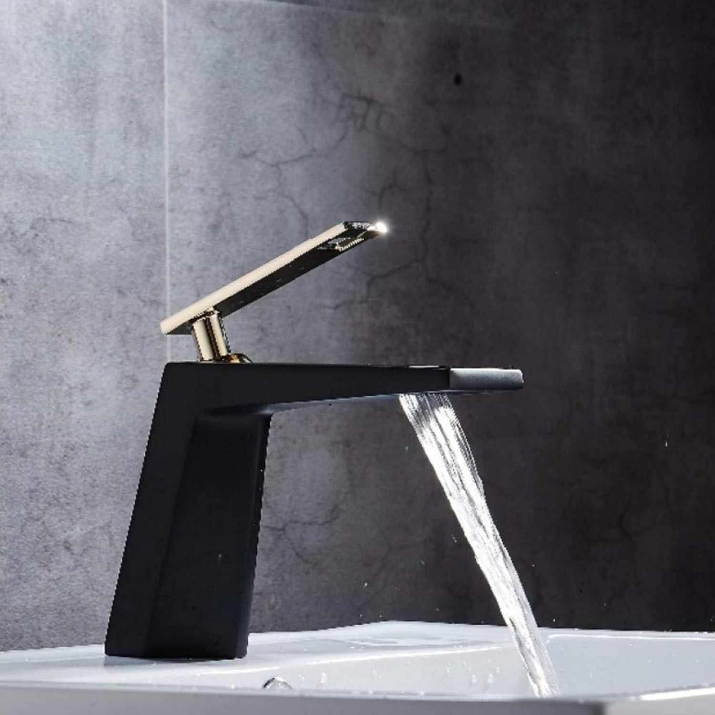 Schwarz wei bad waschbecken wasserhahn Hohlform bad wasserfall wasserhhne einhebel wasser mischbatterie