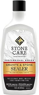 Stone Care International Granite Stone Sealer - 16 Ounce - for Granite Marble Soapstone Quartz Quartzite Slate Limestone Corian Laminate Tile Countertop