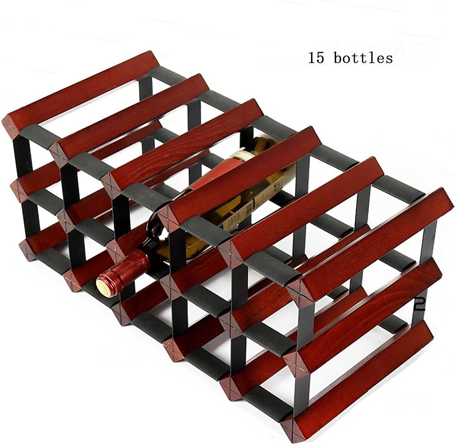 Red Wine Shelf Wine Rack Wine Rack Solid Wood Wine Red Home Living Room Restaurant Bar Multi-Size Display Stand (Size   51.5  23.5  23.5cm) (Size   51.5  23.5  23.5cm)