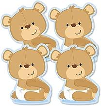 Baby Boy Teddy Bear - Decorations DIY Baby Shower Party Essentials - Set of 20