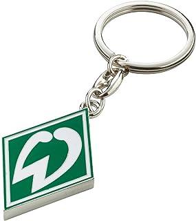 Werder Bremen Unisex – Erwachsene Fanartikel-Schlüsselanhänger Raute, grün, S