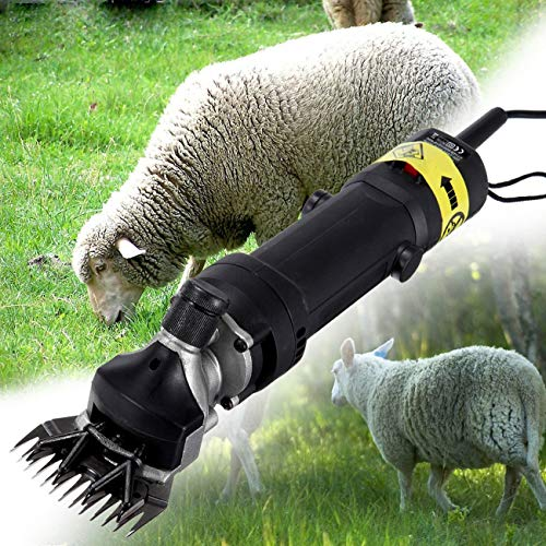 PanelTech 110V 320W Electric Goat Shears Grooming Shearing Clipper for Farm Supplies Sheep Animal Livestock