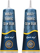 Raburt Stitch Liquid Multi-use Fabric Adhere Fast Tack Dry Sew Glue Jeans Clothing Leather Sewing Solution Reparatietool