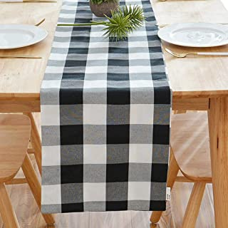 Amazon Ca Black And White Checkered Table Runners