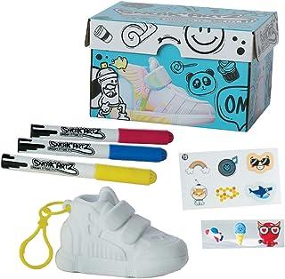 Splash Toys- Splashtoys-SNEAK'ARTZ SHOEBOX Bleue-Loisirs créatifs-Design et personnalise tes Baskets-Dès 5 Ans, 32220