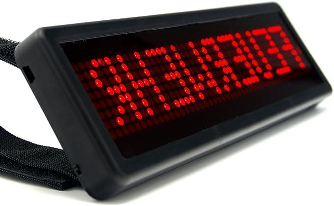 Mobiles Led Einsatzschild Cobra S Mit Akku Frei Programmierbar Frontwarnsystem Für Die Sonnenblende Vorprogrammiert Z B Feuerwehr Im Einsatz Drk Thw Etc Notfallseelsorge Einsatz Auto