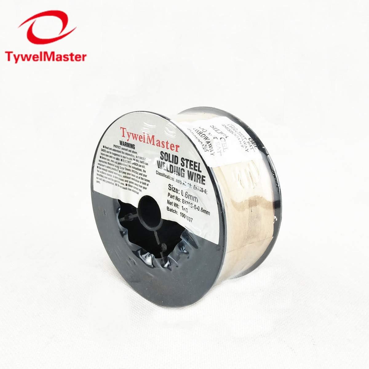 1KG #1#2 Mini Spool 0.6mm 0.023 MIG Welding Wire ER70S-6 SG2 ER50-6 0.6//0.8//0.9mm 0.023//0.03//0.035 Steel Solid Welding Material