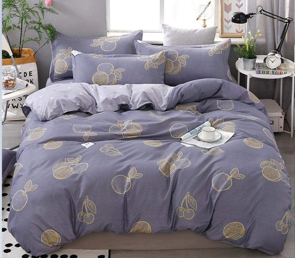 Duvet Cover Ranking integrated 1st place Max 51% OFF Quilt Four-Piece Bed Cotton Linen Three-