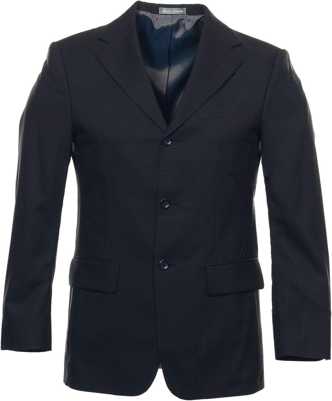 Geoffrey Beene Men's Blue 3 Button Sport Coat
