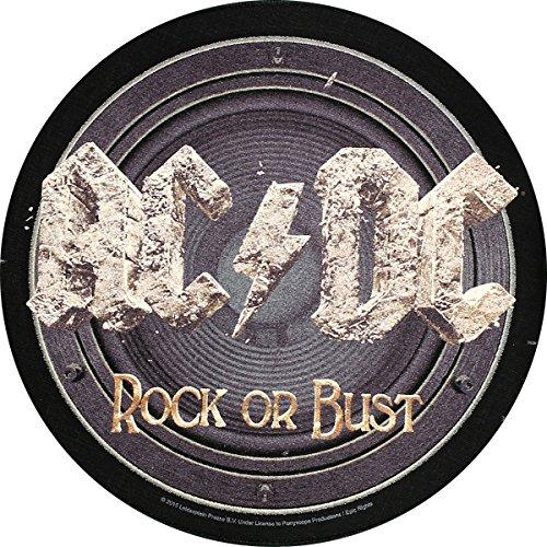 AC/DC Dos Badges Rock Or Bust Back Patch écusson