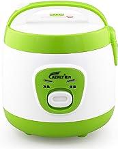 Rijstkoker, huishoudelijke mini-rijstkoker, koken met één knop en automatische warmtebehoud (2L-350W), voor 1-2 personen