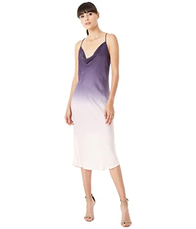 Young Fabulous & Broke Sweetie Slip Dress (Eggplant Ombre) Women