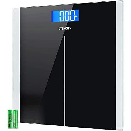 Etekcity Digital Body Weight Bathroom Scale with Step-On Technology, 400 Lb