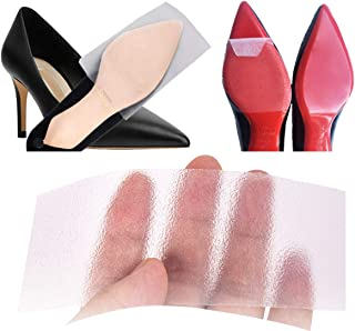 Sole Sticker Crystal Clear Sole Protector for Heels Shoe Bottom Slip Resistant Self-Stick Pads