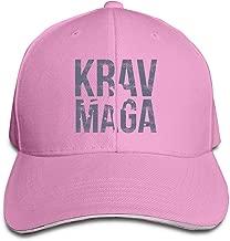 Adult Krav MAGA Cotton Lightweight Adjustable Peaked Baseball Cap Sandwich Hat Men Women