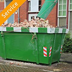 Drop off dumpster to desired location Pickup dumpster after desired duration Disposal of items Dumpster dimensions vary by provider. Please confirm dimensions after appointment confirmation Providers will not pick up: Asbestos material, car batteries...