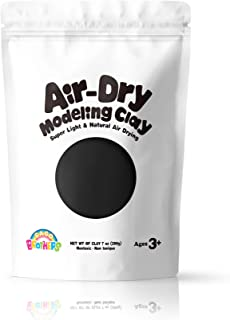 Sago Brothers Modeling Clay for Kids - Black, Molding Magic Clay for Kids Air Dry, Super Soft Clay for DIY Slime, Ultra Li...
