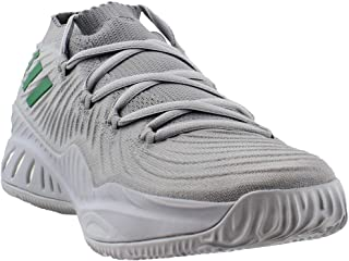 adidas Mens As Crazy Explosive Low 2017 Primeknit - Brown Basketball Athletic Shoes,