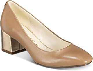 Anne Klein Womens Whisp Leather Closed Toe Classic Pumps