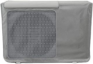 GSPStyle,エアコン室外機カバー虫よけ 80X55X32CM 令和最新型取扱説明書付 日・雨・雪・風・ホコリ室外機を守る 2色選(銀灰色(80*55*32CM))