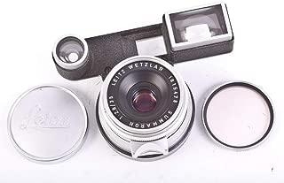 Leica M 35MM F 2.8 SUMMARON RANGEFINDER LEITZ WETZLAR Lens W/Eyes #748