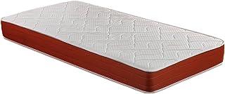 SMARTCELL Colchón viscoelástico, 90 x 190 x 18 cm, Alta Densidad, máxima ventilación, antiácaros Visco (Otras Medidas Disponibles), 90 x 190 cm, poliéster