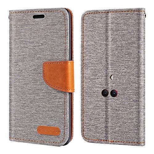Lenovo Legion Hülle, Oxford Leder Wallet Hülle mit Soft TPU Back Cover Magnet Flip Hülle für Lenovo Legion Phone Duel