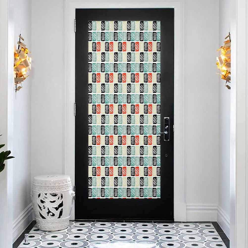 All items in the store 3D Door Decal Stickers Decor Cheap mail order shopping Hand Tribal Mural Drawn