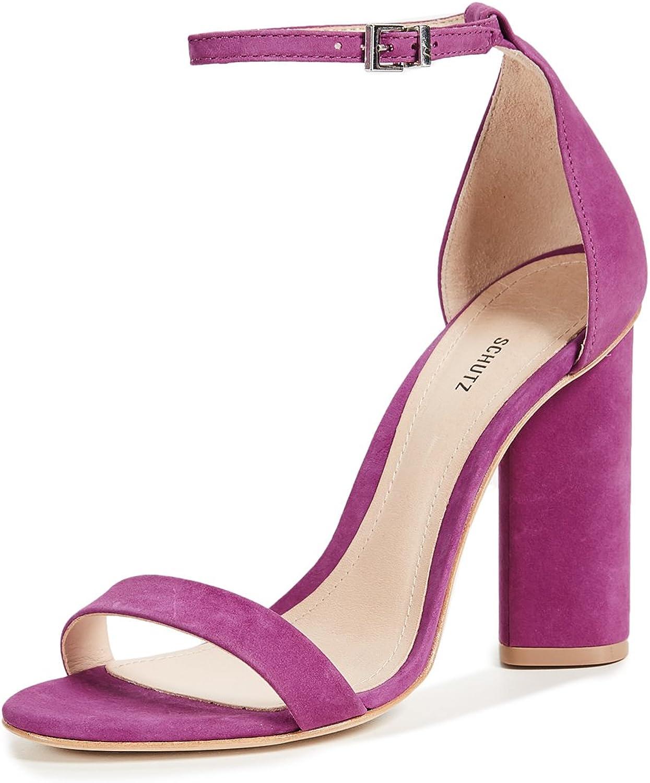 SCHUTZ Women's Jeannine Block Heel Sandals