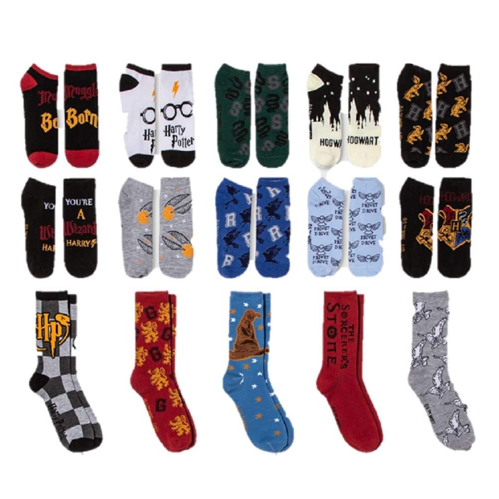 Womens Harry Potter Castle 12 Days Of Socks Advent Calendar