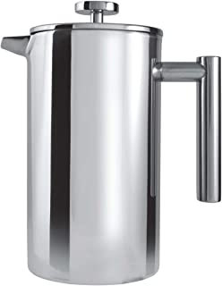 3 Cup Straight Stainless Steel Cafetiere