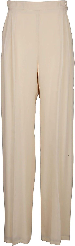 MAX MARA Women's 81310191600013 Beige Silk Pants
