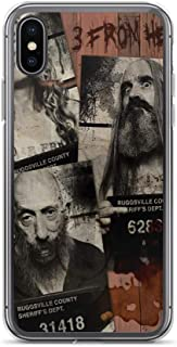 iPhone XR Case Anti-Scratch Motion Picture Transparent Cases Cover New Movie from Rob Zombie 3 from Hell All New Mugshots Action Movies Video Film Crystal Clear