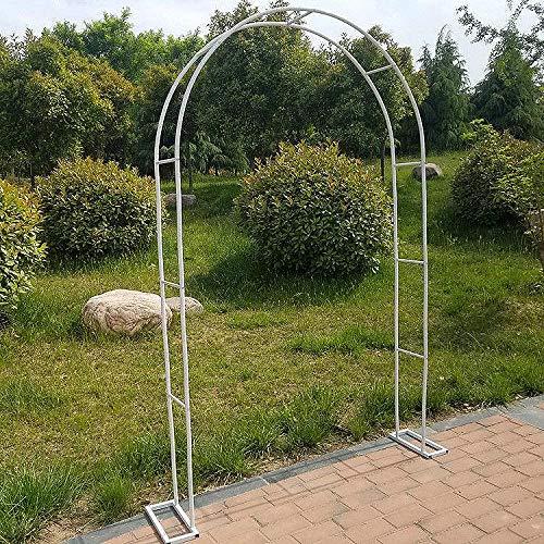 QLLL Garden Arch, Patio Outdoor Rose Arch Wedding Archway Ornament Pergola, Archway Tubular