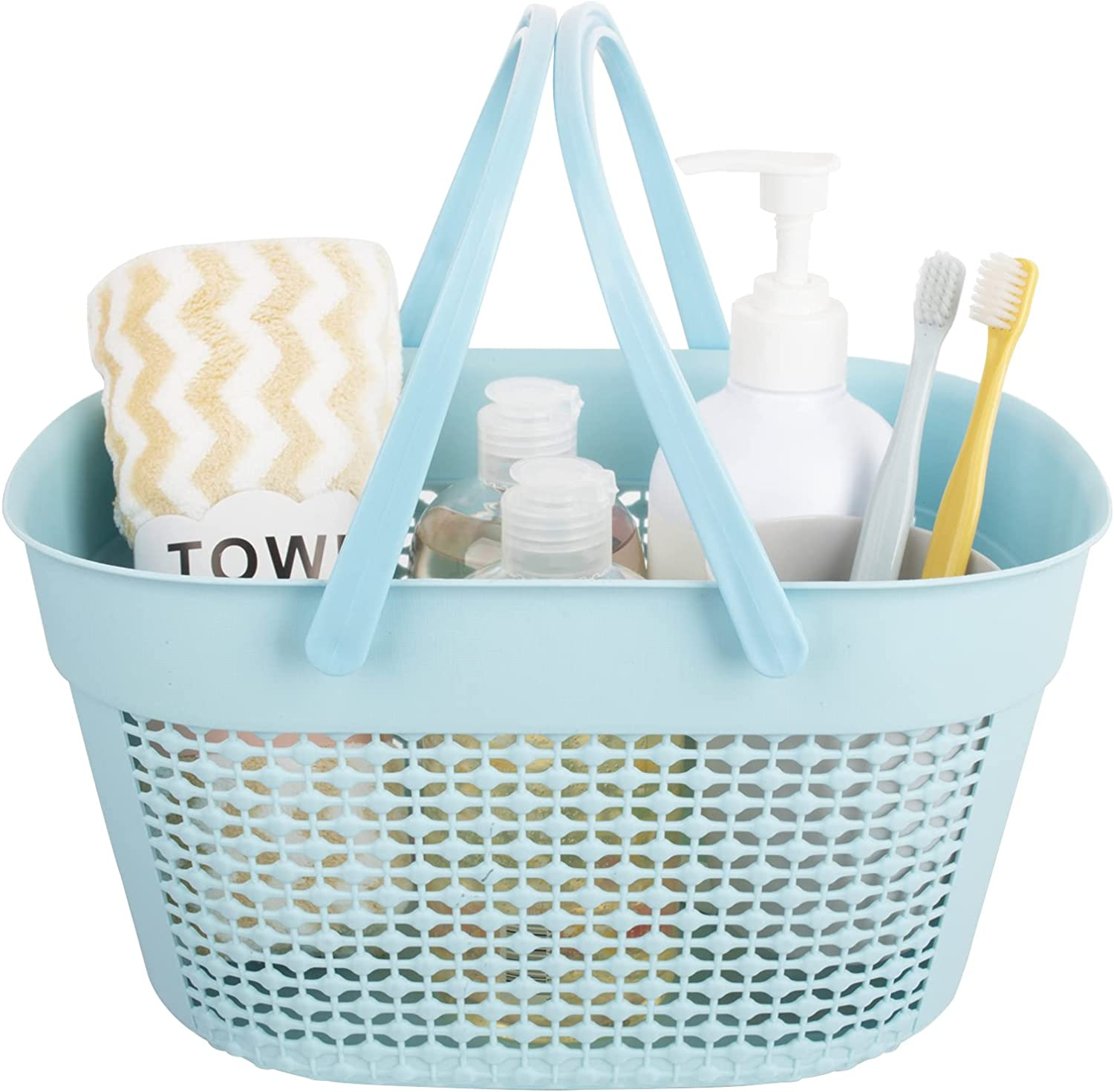 rejomiik Shower Caddy Basket Portable Handle with ! Super beauty product restock quality top! Tote Plastic Manufacturer OFFicial shop