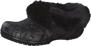 Crocs Classic Mammoth Luxe Metallic Clog Black Men's 9, Women's 11