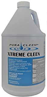 Pura Cleen Rx Xtreme Cleen Disinfectant Spray - Concentrate -  128 oz