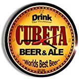 Goldenoldiesclocks CUBETA Beer and ale Cerveza Wall Clock