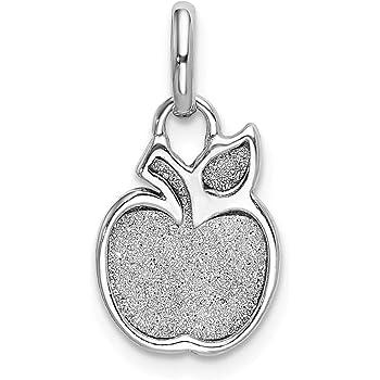 Jewelry Best Seller Sterling Silver Rhodium-platedEnamel Bells Charm