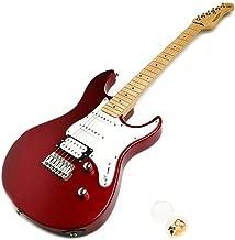 ヤマハ エレキギター PACIFICA112VM RM レッドメタリック YAMAHA 112VM メイプル指板 オリジナルピックセット