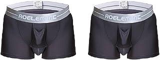 メンズ ボクサーパンツ 陰嚢分離型 3D 爽やか感触 網ポケット付き 前開き機能 トイレ楽々