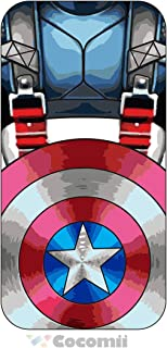 Cocomii Iron Man Armor iPhone 6S/6 Case New [Heavy Duty] Premium Tactical Grip Kickstand Shockproof Bumper [Military Defender] Full Body Rugged Cover for Apple iPhone 6S/6 (I.Captain America)