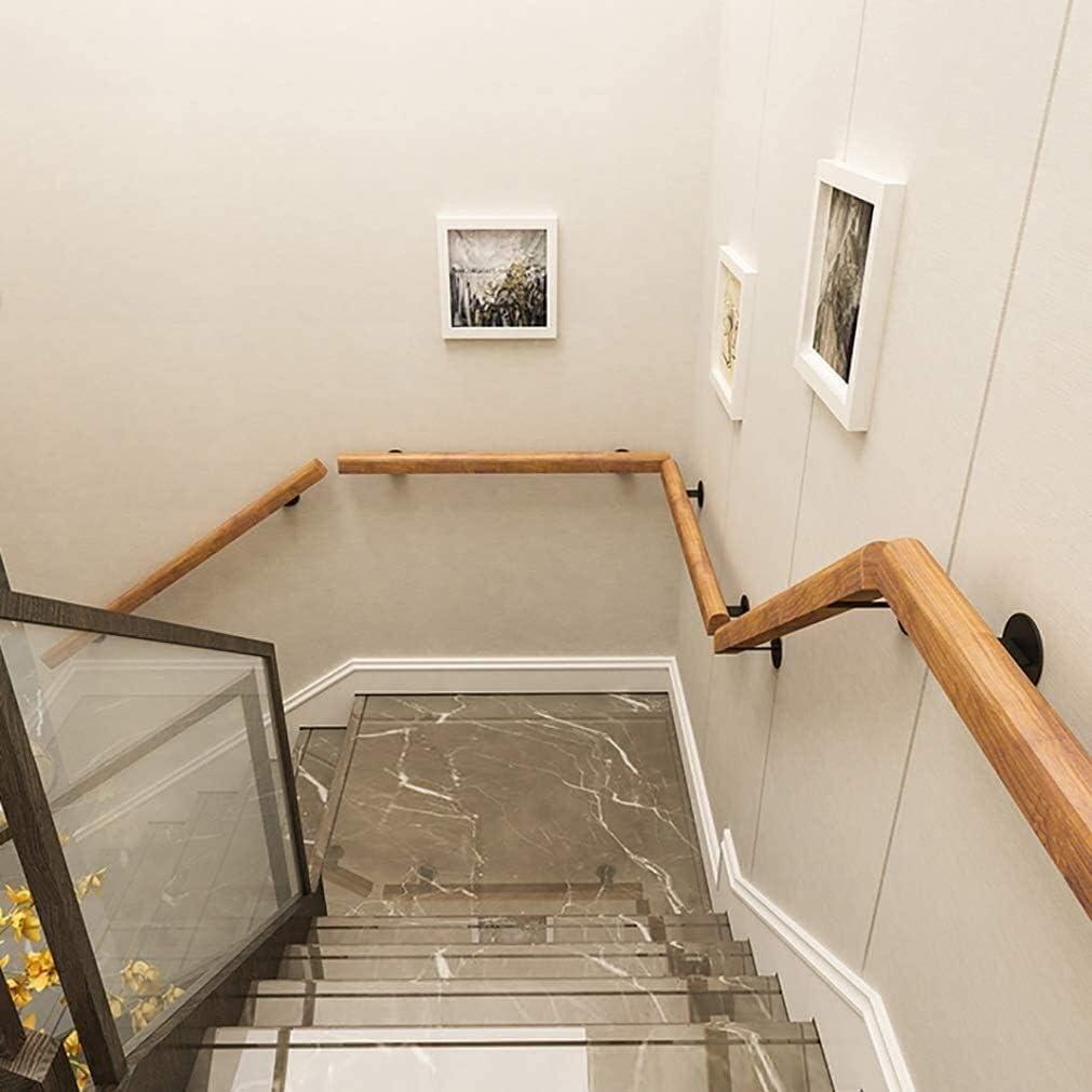 Size : 1ft//30cm Massivholz-Anti-Rutsch-Treppengel/änder Gel/änder 1ft 20ft Villa Loft gegen die Wand /Ältere Kinder Treppen Gel/änder 0728 Indoor-Korridor Treppengel/änder Gel/änder