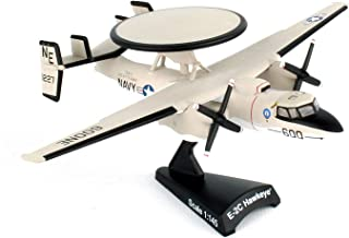 Daron Worldwide Trading Postage Stamp USN E-2C Hawkeye 1/145 Vaw-116 Sun K Airplane Model