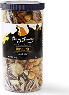 Funky Chunky Chip-Zel-Pop, Tall Canister, 19 ounce