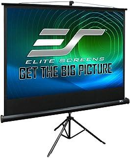 Elite Tripod 4:3 Portable Projector Screen, 84-Inch